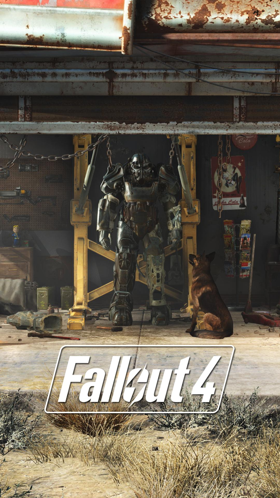 Fallout 4 nieuws Prachtige iPhone  en Android wallpapers voor Fallout 1080x1920