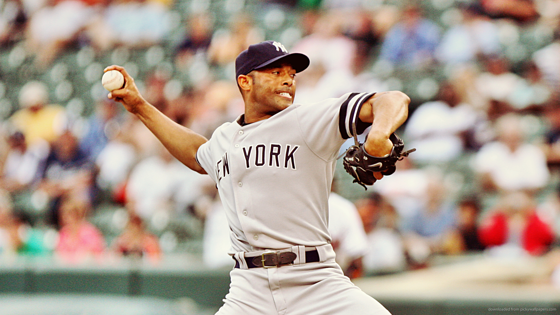 Rivera Epic Pitch Picture For iPhone, Blackberry, iPad, Mariano Rivera ...