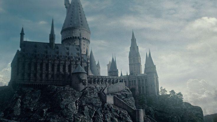 Hogwarts current desktop wallpaper Harry Potter Pinterest 736x414