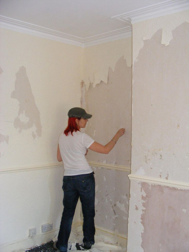 How to Remove Wallpaper DIY Pinterest 736x981
