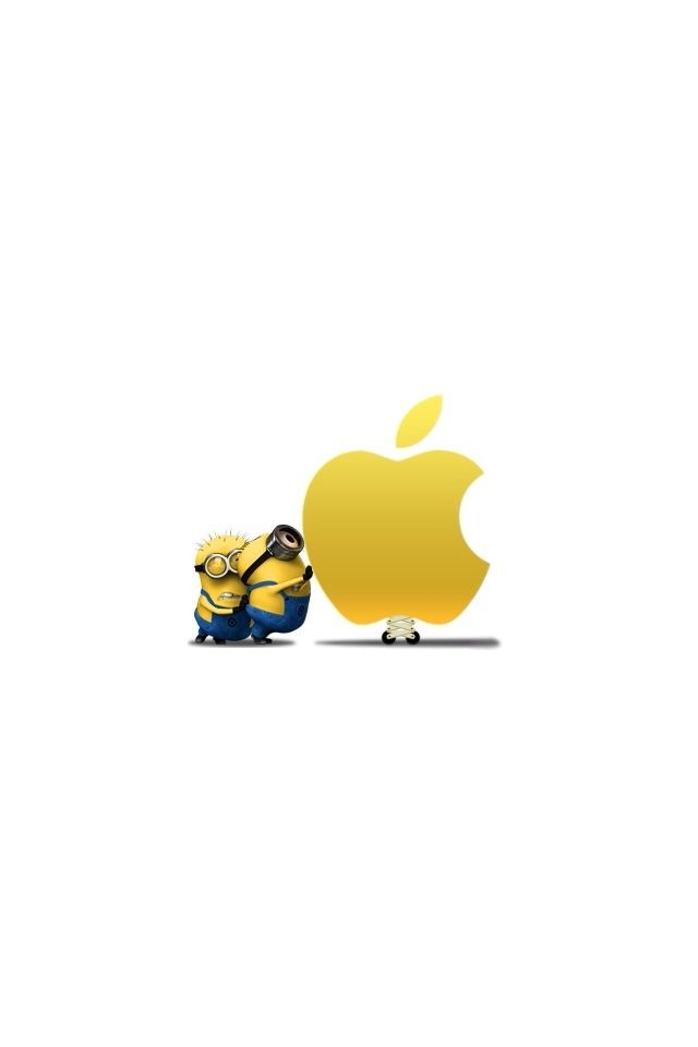 iPad wallpaper blncvralyssa minions Pinterest Minion Wallpaper 640x960