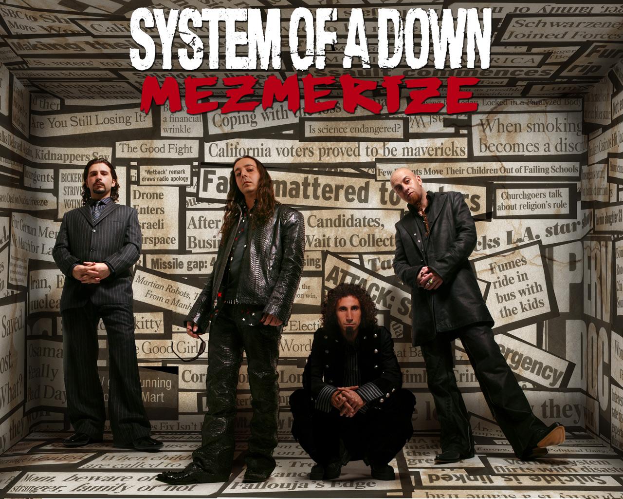 Papel de Parede System Of a Down   Mezmerize Wallpaper para Download 1280x1024