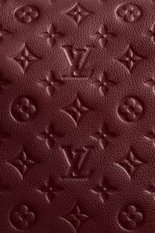 Louis Vuitton Red   iPhone 4 Wallpaper   Pocket Walls HD iPhone 640x960