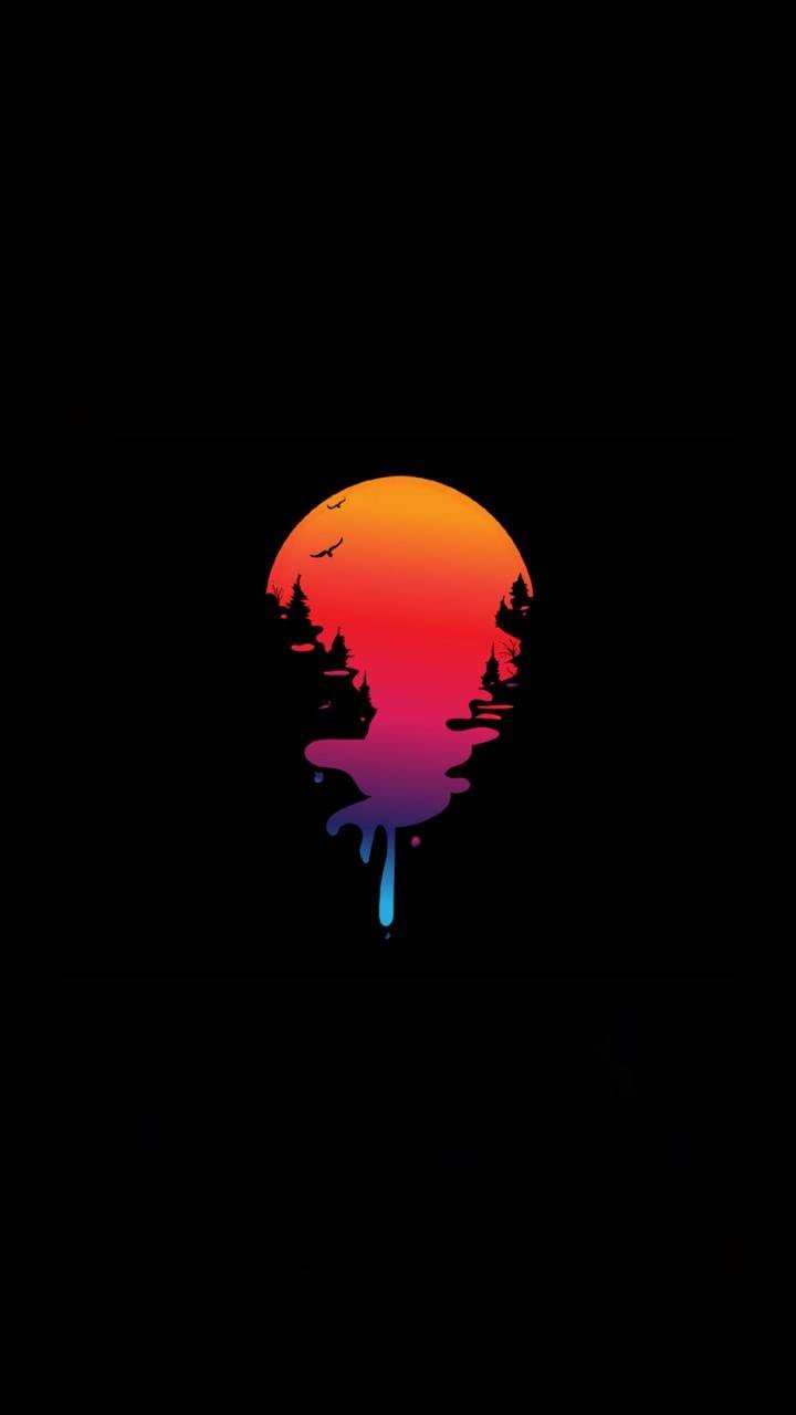 Drippy Sun Wallpapers   KoLPaPer   Awesome HD Wallpapers 720x1280