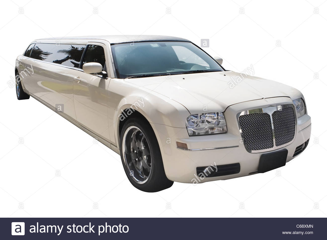 A white limousine without any background Stock Photo 38305253   Alamy 1300x956