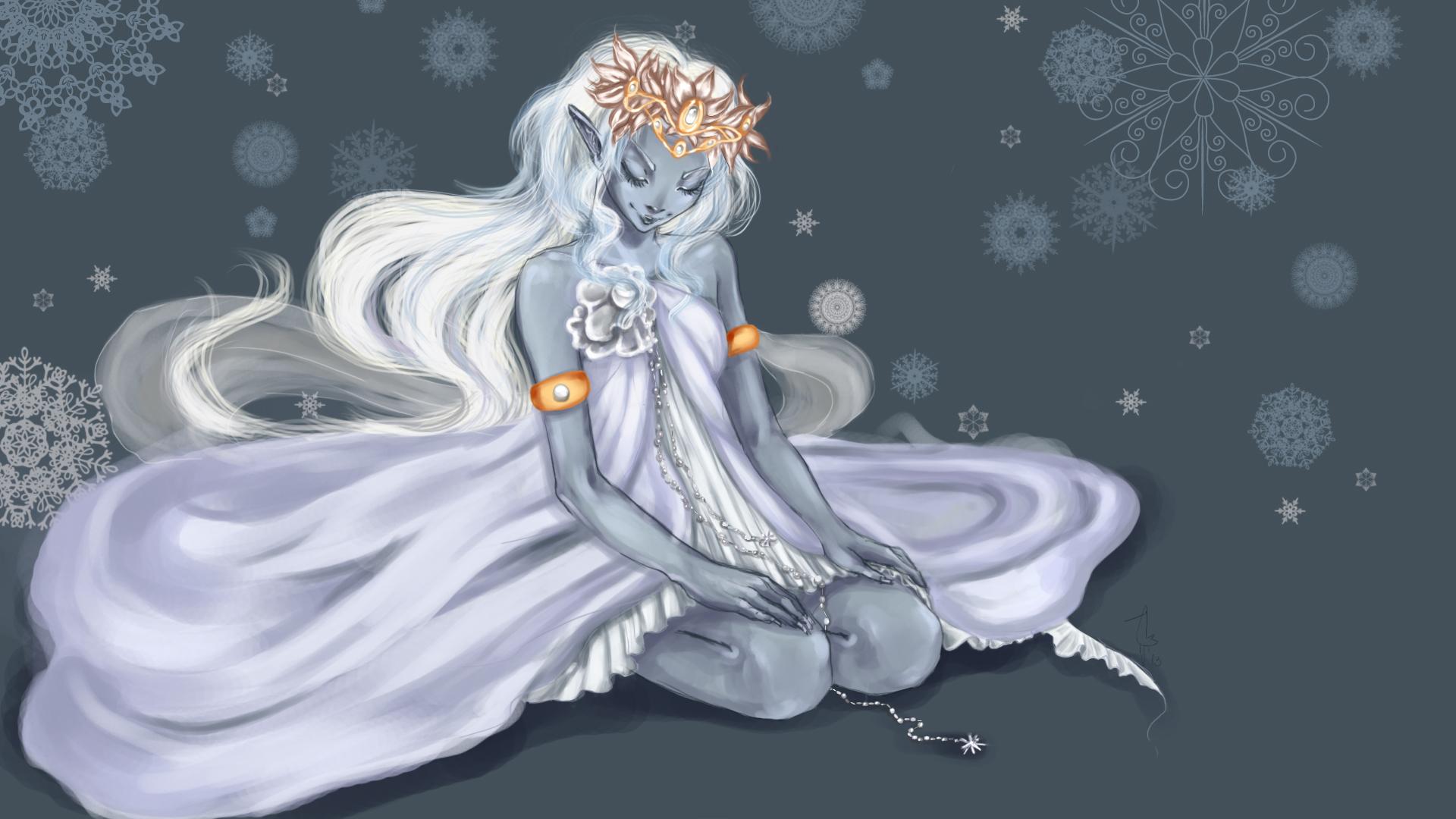 Snow Elf - Wallpaper, High Definition, High Quality, Widescreen