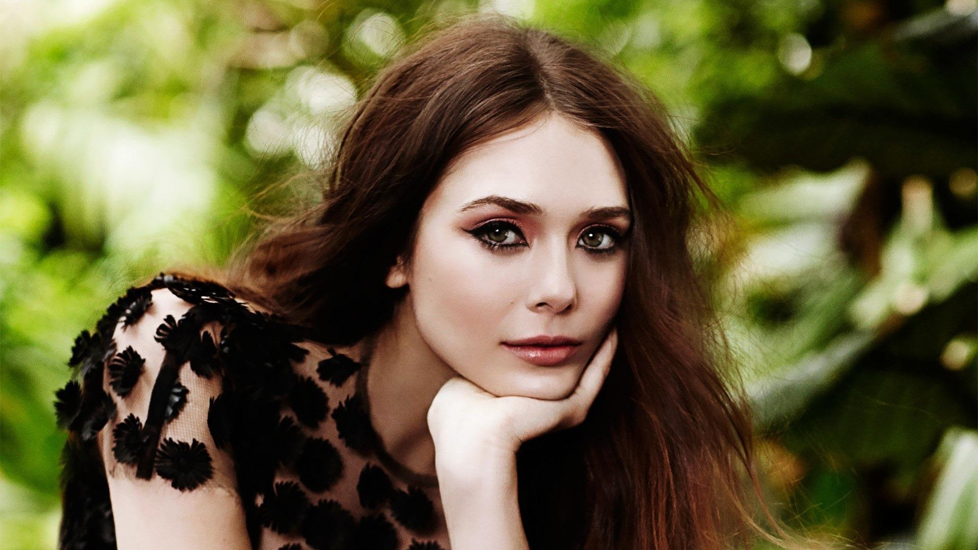 Elizabeth Olsen Cute HD desktop wallpaper Widescreen 1920x1080