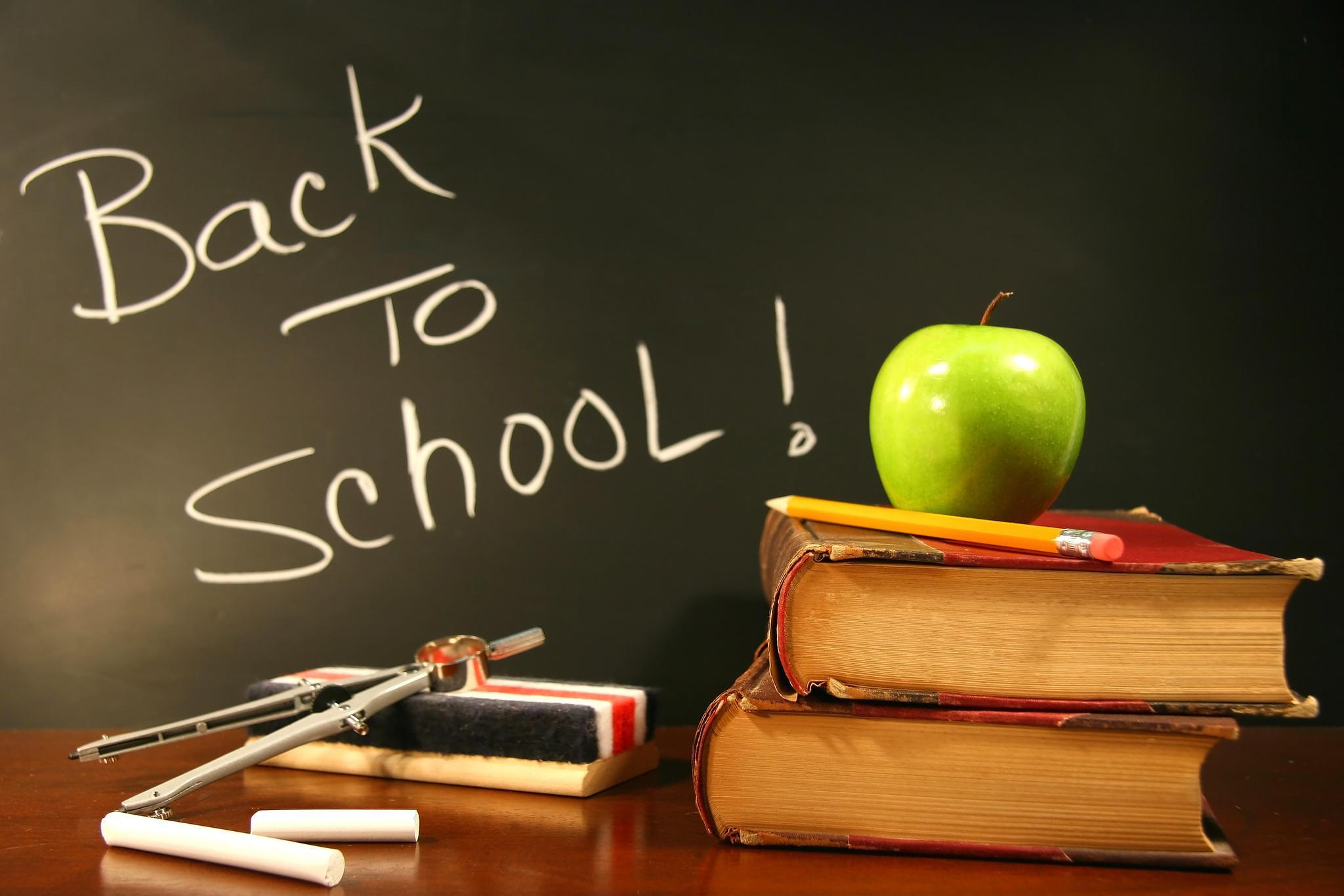 School Supplies Wallpaper Background HD 61718 2442x1718px 2048x1366