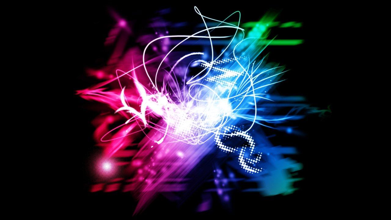 Neon Lights   Wallpaper by V1N3 1280x720