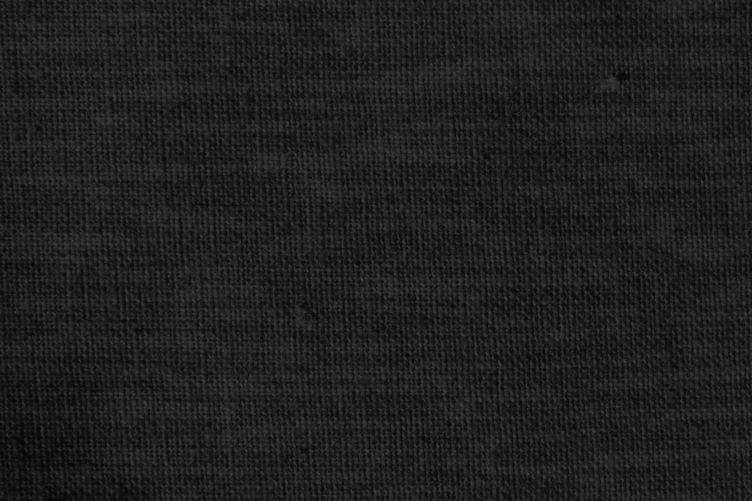 Black Woven Fabric Close Up Texture Picture Photograph Photos 3000x2000