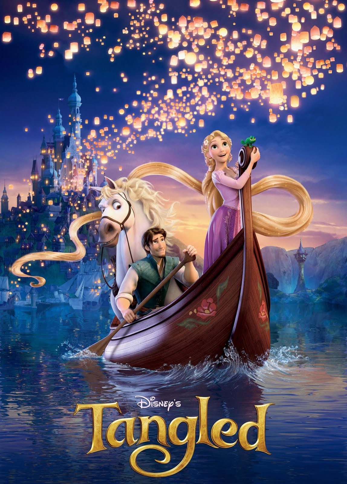 11 Disney Tangled Princess Rapunzel Wear Purple Dress 1148x1600