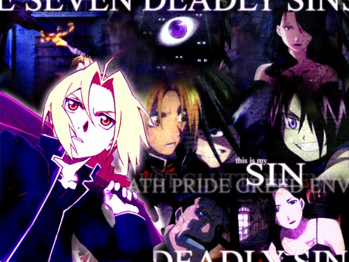 Wallpapers Fullmetal Alchemist Wallpaper The Seven Deadly Sins 500x375