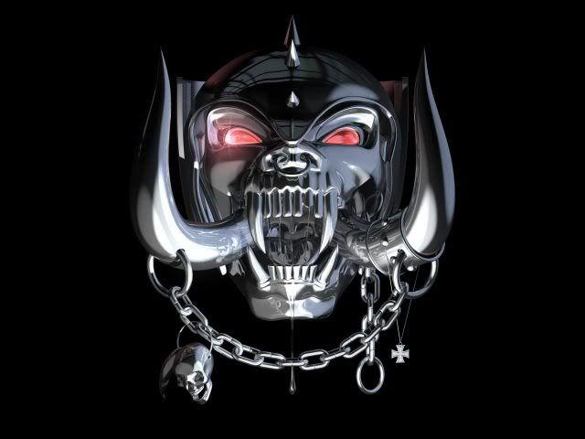 Chrome Motorhead Logo Rock Art Pinterest 640x480