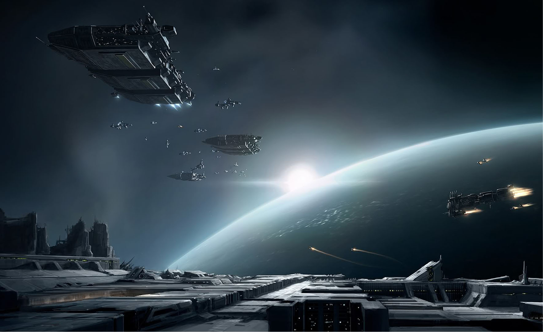 At Event Horizon   Rpg Games Wallpaper Image featuring Eve Online 1769x1080