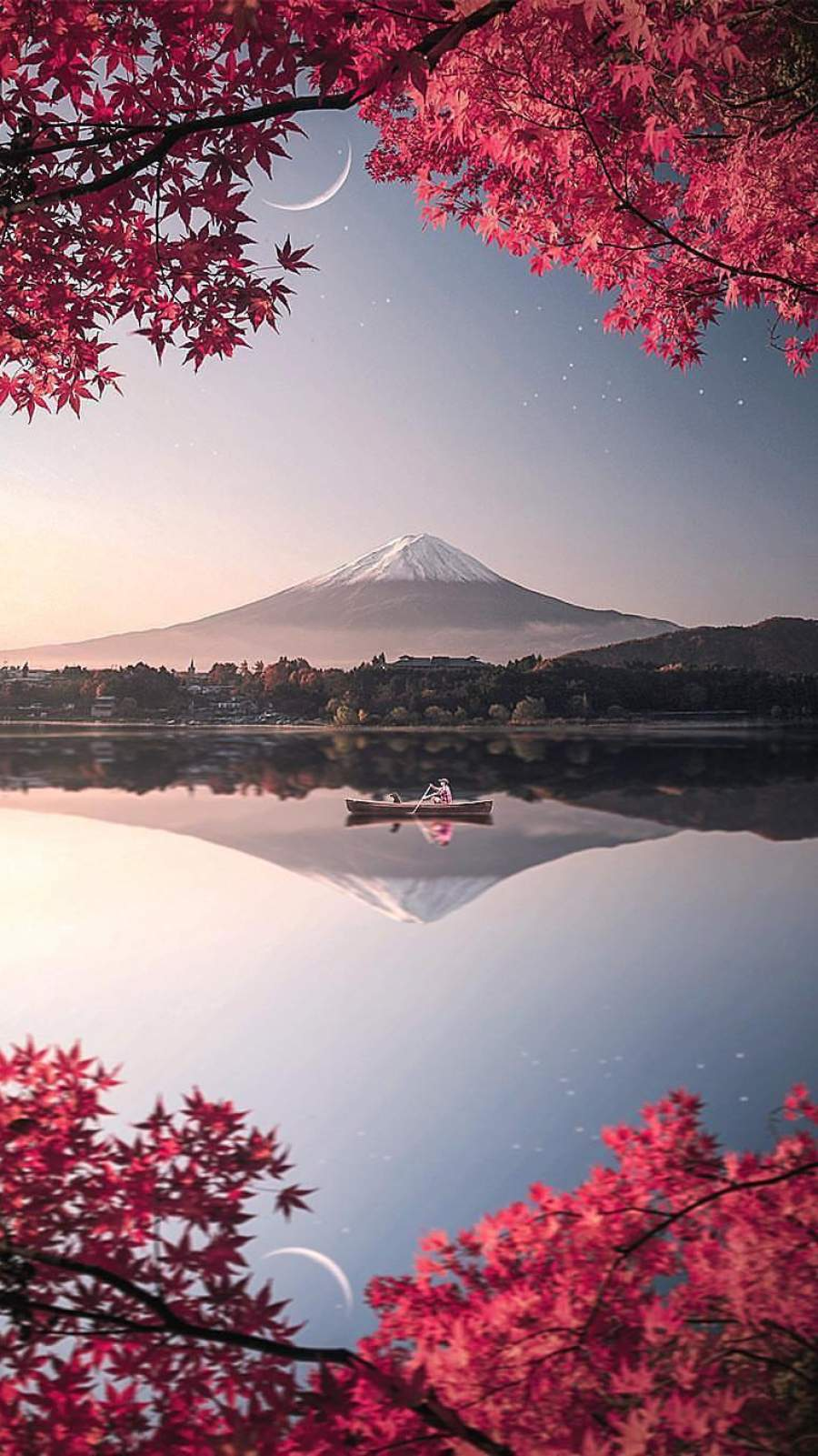 Japan Mount Fuji Nature iPhone Wallpaper   iPhone Wallpapers 900x1601