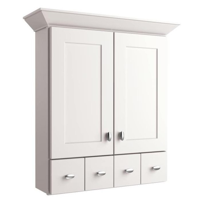 Allen And Roth Moravia Bathroom Wall Cabinet Fanti Blog