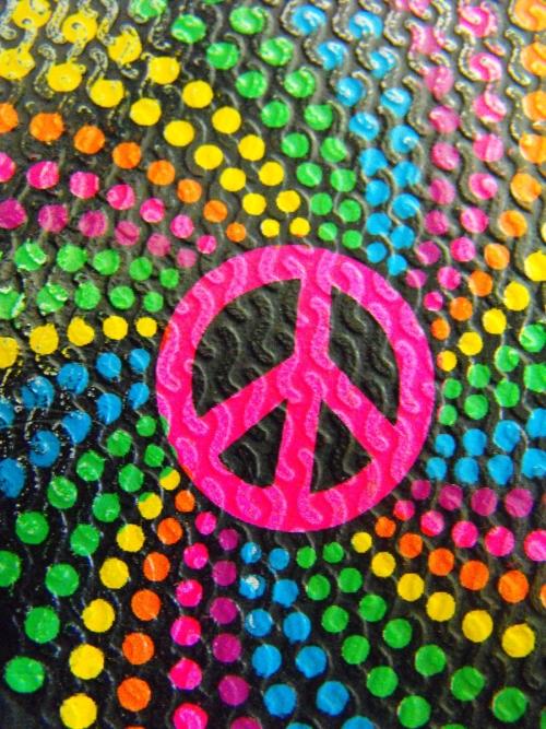 Colorful Peace Wallpaper Wallpapersafari