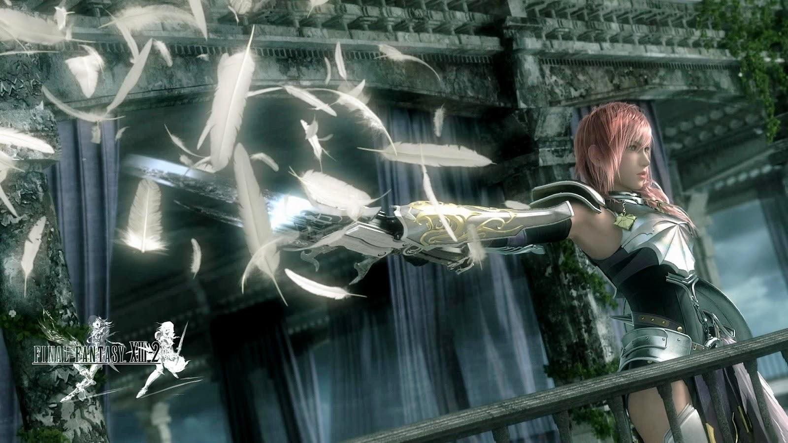 THE BING Final Fantasy XIII 2 Game Wallpaper 1600x900
