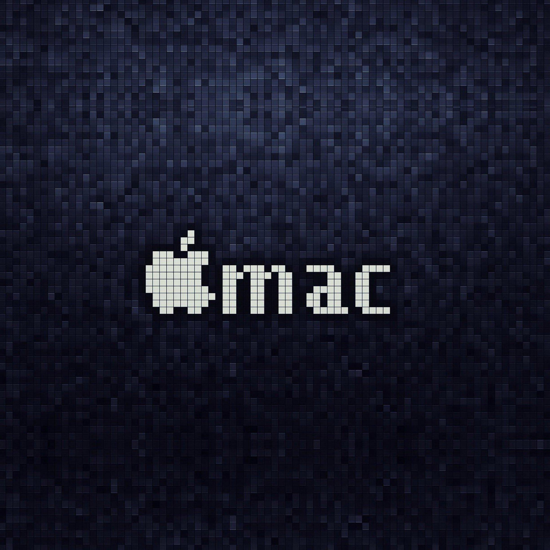 FREEIOS7 mac 8 bit   parallax HD iPhone iPad wallpaper 2448x2448