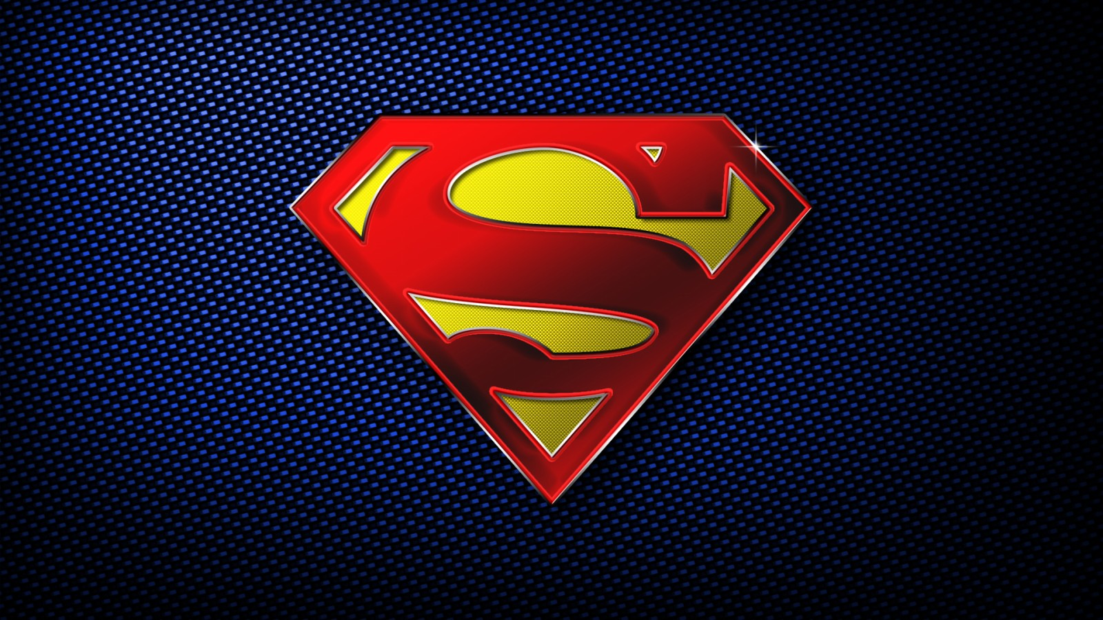 Superman Logo Wallpaper   wallpaper 1600x900