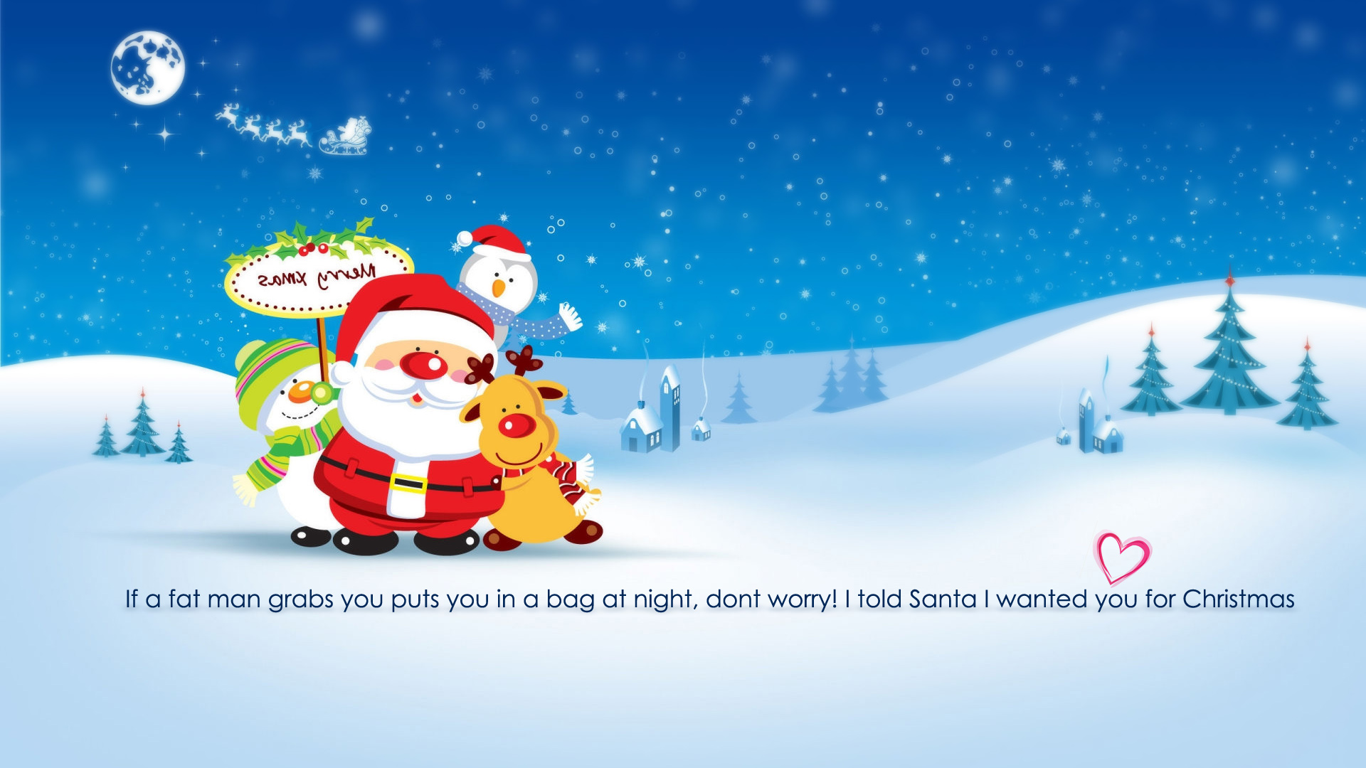 funny christma full hd wallpaper 2013 2014 to girlfrinds 1920x1080