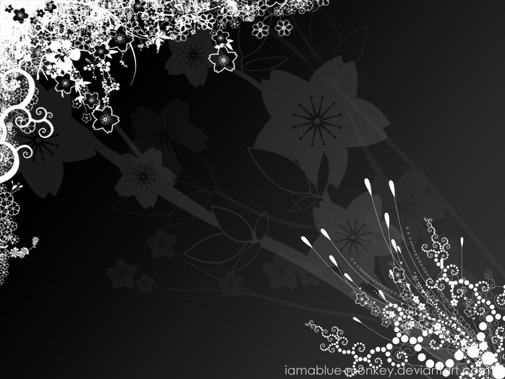black wallpaper hd Black And White Wallpaper 1024x768
