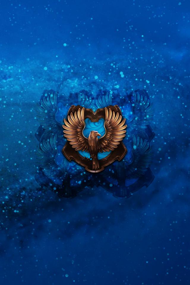 DeviantArt More Like Ravenclaw Wallpaper by SnapesChamaeleon91 640x960
