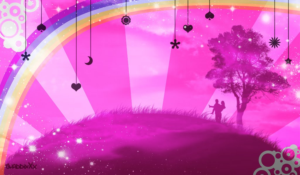 Cute Girly Computer Backgrounds HD4Wallpapernet 1024x600