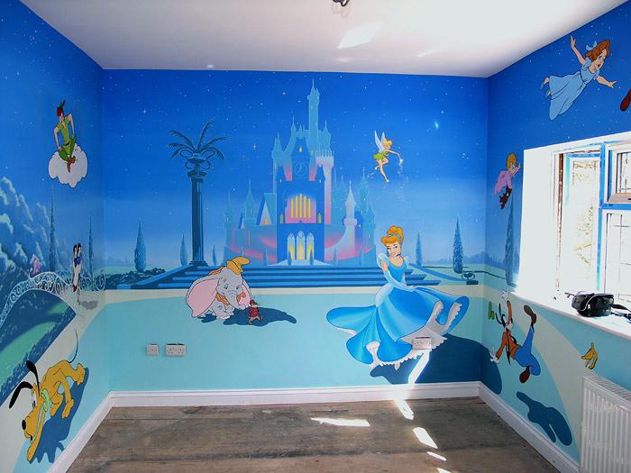 Baby Disney Characters Wall art stickers murals decals 419