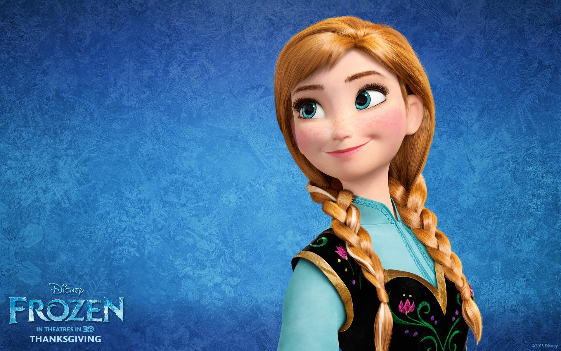 Princess Anna Frozen Wallpapers HD Wallpapers 1920x1200