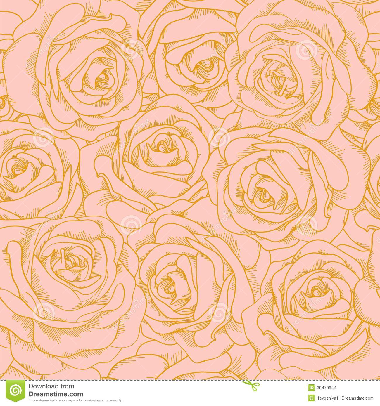 Pink and Gold Wallpape...