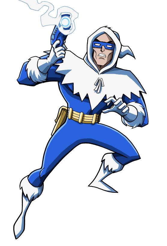 DC Villains Bio   Captain Cold by LucianoVecchio 557x818