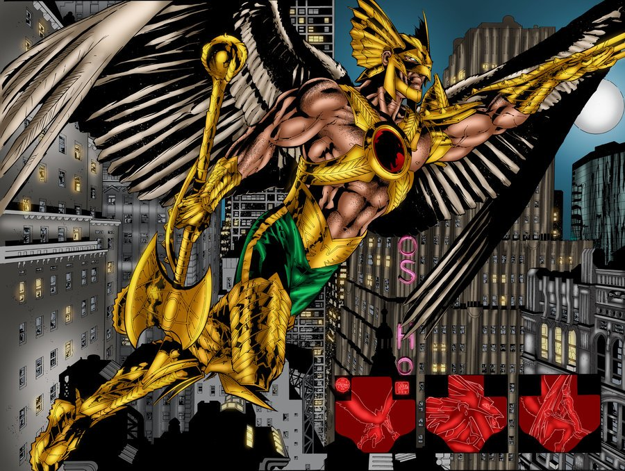 Savage Hawkman Wallpaper The savage hawkman issue 9 900x678