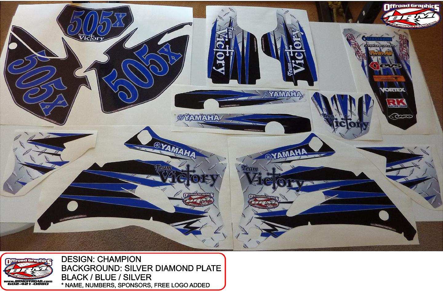 BRM Offroad   Yamaha WR250F WR250R WR250X Graphics 1440x946