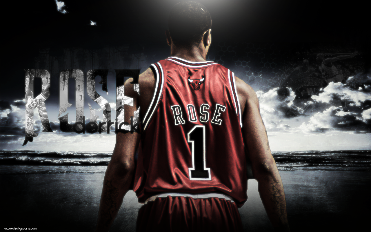 Wallpapers Derrick Rose NBA TSEBA 1280x800
