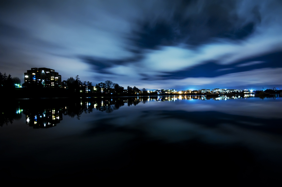 Pin Vancouver City Nights 1366x768 Hd Wallpapers 900x598