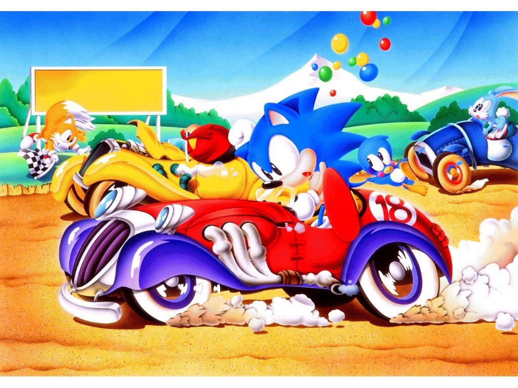TrueBlueNET Sonic   Downloads   Desktop   Wallpaper   Sonic 1024x768