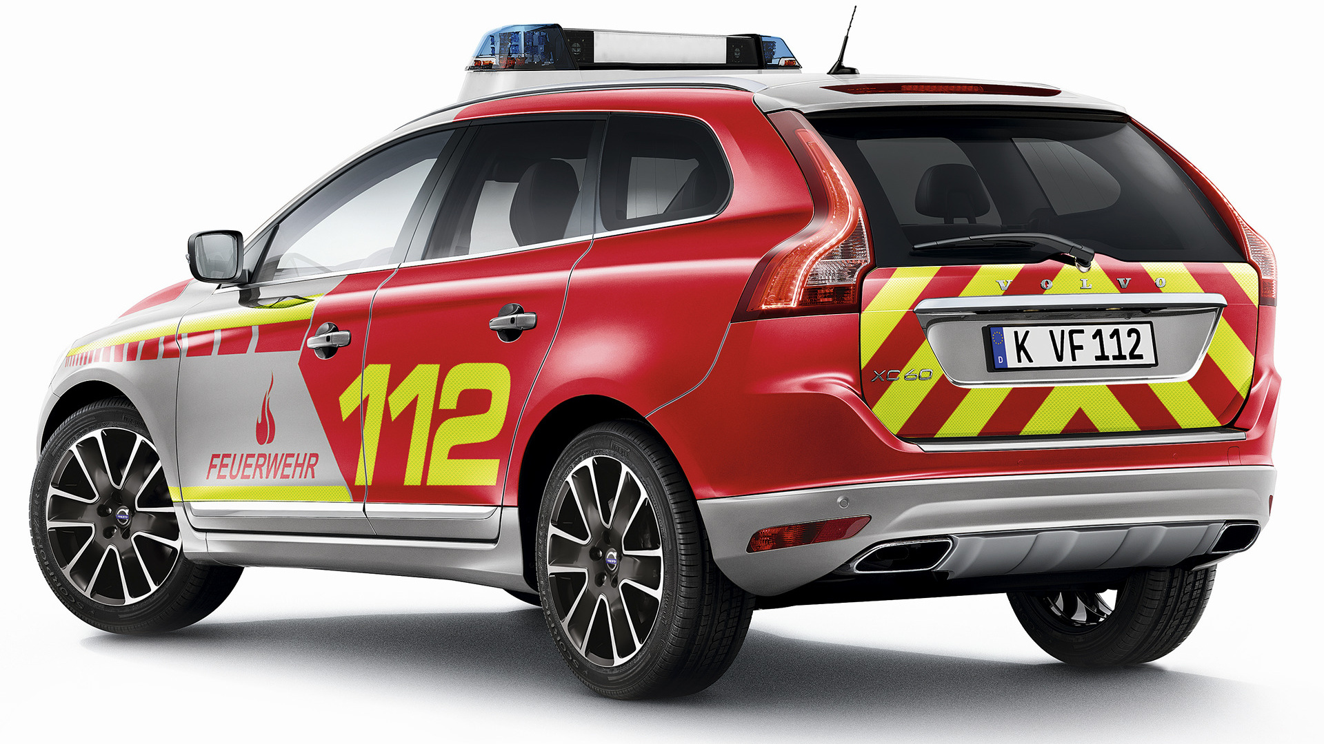Volvo XC60 Feuerwehr 2014 Wallpapers and HD Images 1920x1080