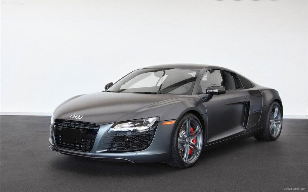Audi R8 Black Front Car Wallpaper Gallery 1024x640