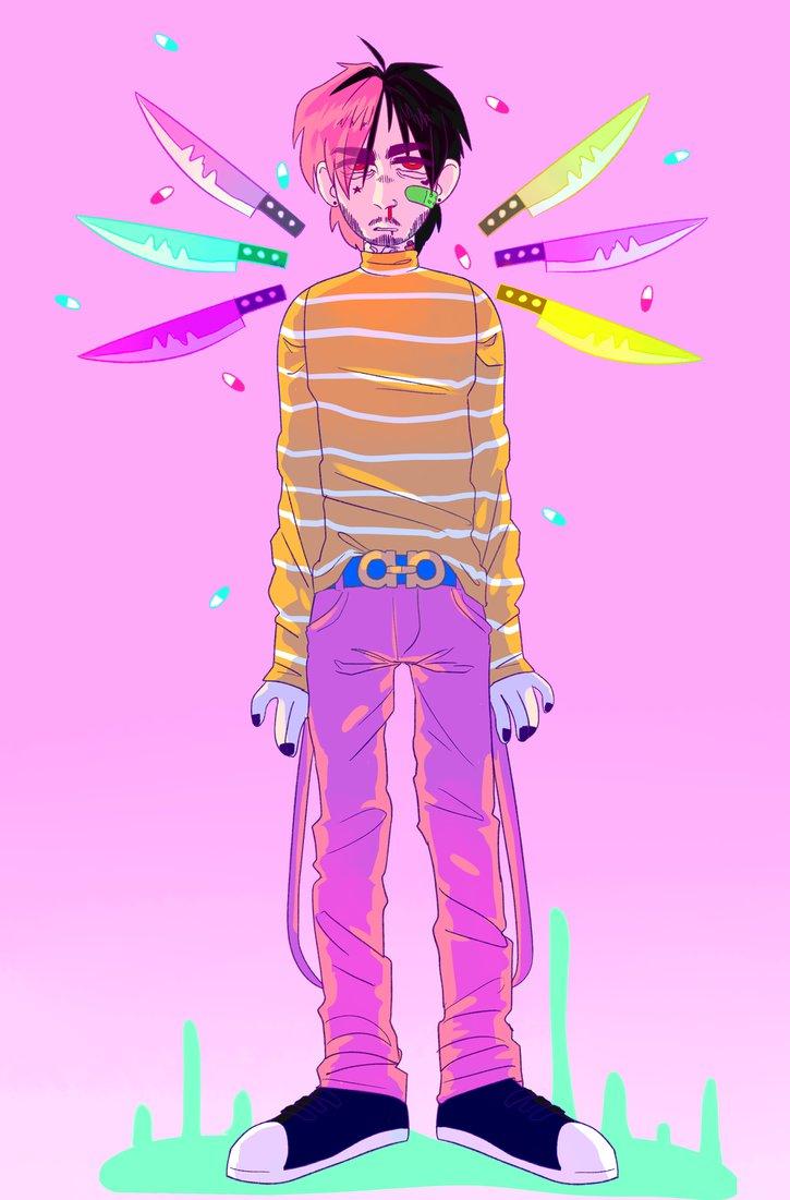 lil peep by radicalrumps 725x1101