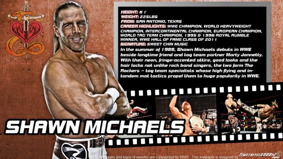 Shawn Michaels Wallpaper 550x309