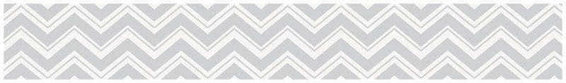 Zig Zag Pink and Gray Wallpaper Border by Sweet Jojo Designs 800x118