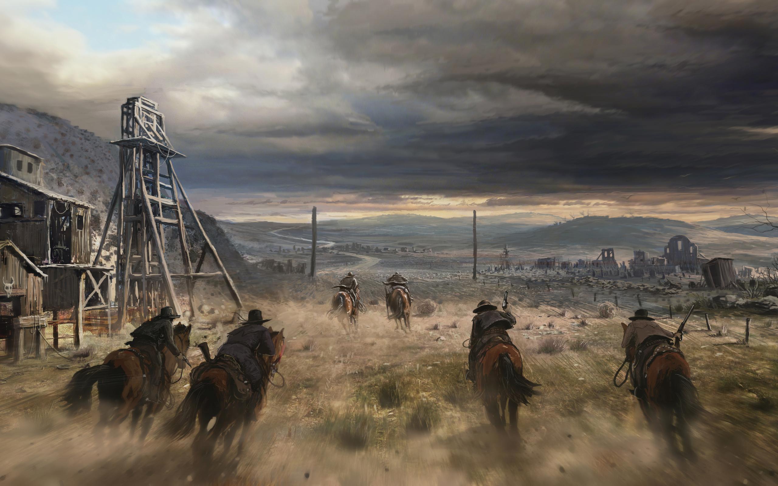 Cowboys california gold rush america usa wallpaper 2560x1600