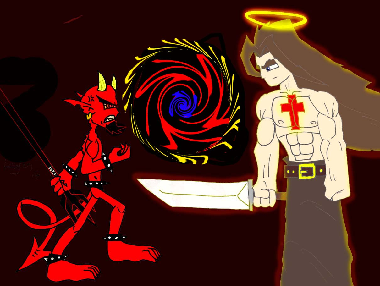 Jesus Vs Satan Boxing for Pinterest 1209x910