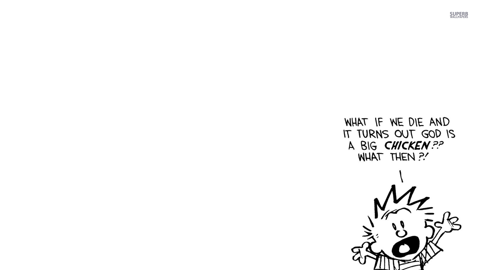 Calvin Hobbes images Calvin HD wallpaper and background photos 1600x900