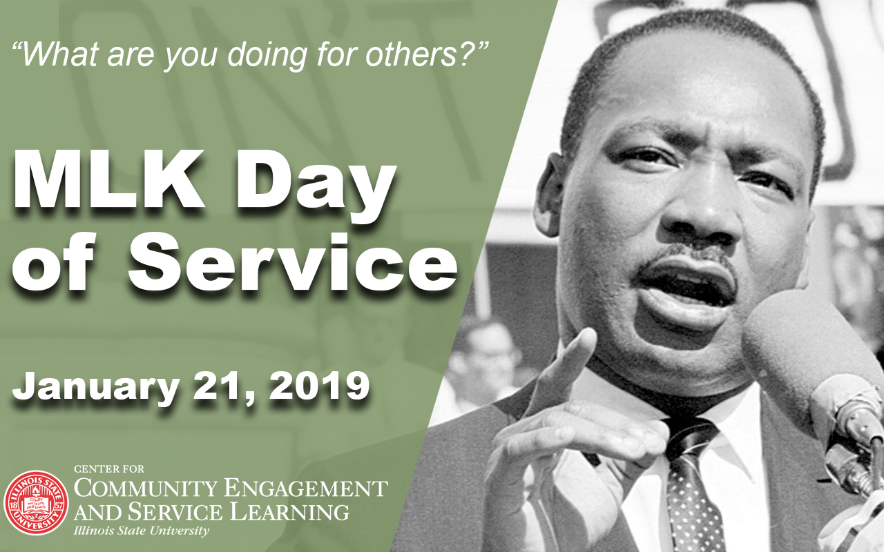 Martin Luther King Jr Day of Service Events   Illinois State 1280x800