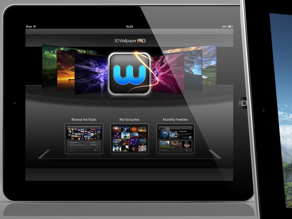 3D Wallpaper Pro for iPad   RisingHigh Apps 1024x768