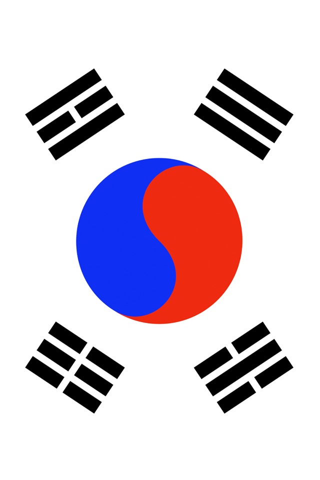 Free Download South Korea Flag Iphone Wallpaper Hd 640x960 For