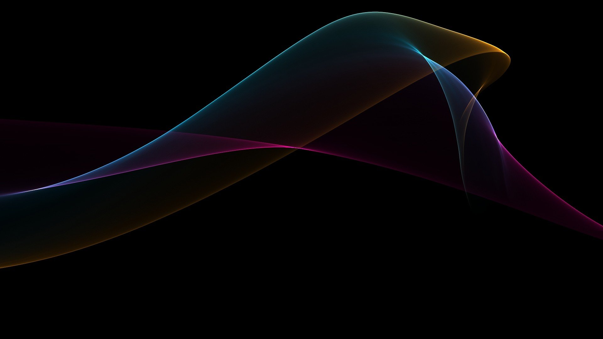 Black Abstract Background 1920x1080
