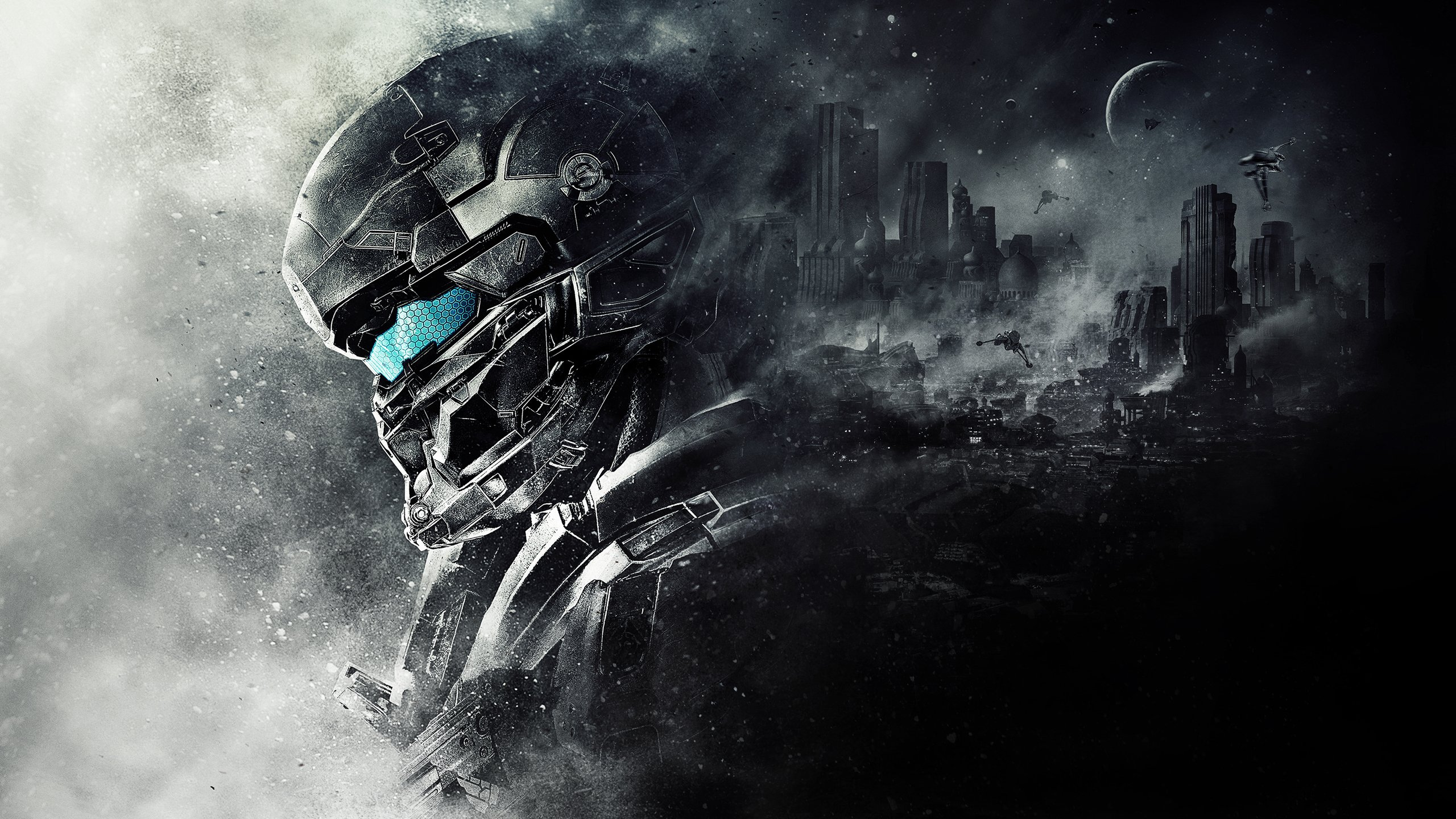 Spartan Locke Halo 5 Guardians Wallpapers HD Wallpapers 2560x1440